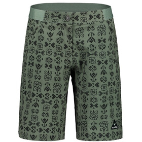 Maloja AnemonaM. Printed Multisport Shorts Dames, cypress hayfield